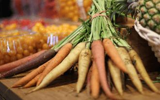 טבלת קלוריות לירקות